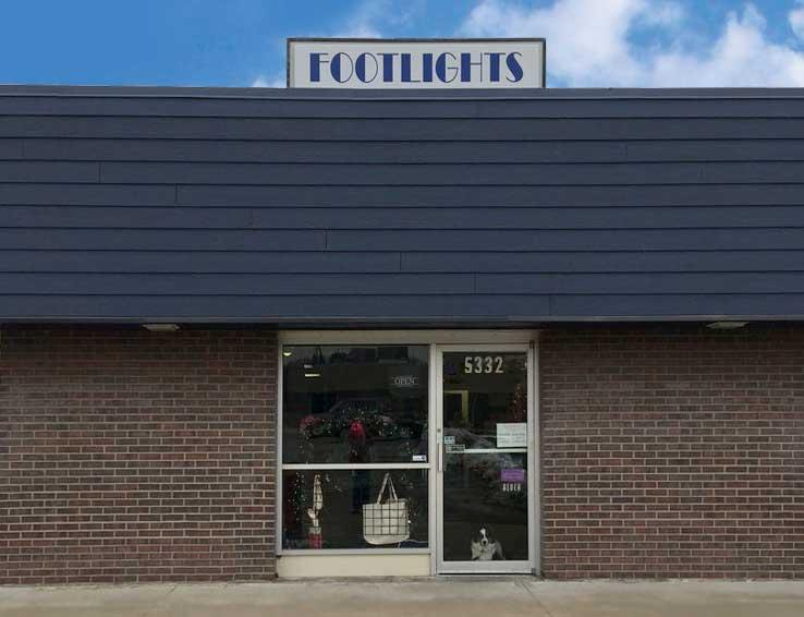 Footlights Storefront